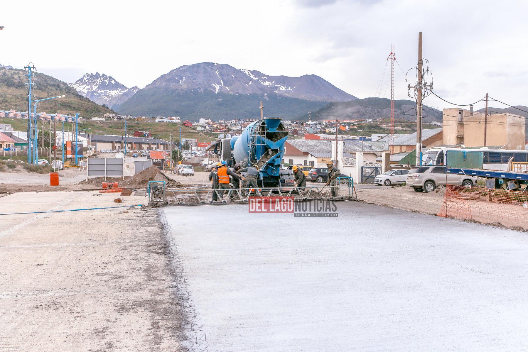 Vuoto recorri trabajos de repavimentaci n y hormigonado for Cabine del lago vuoto