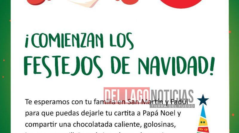 Con Papa Noel Juegos Y Baile La Municipalidad De Ushuaia Comienza