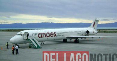 La linea aerea Andes comienza a volar a Ushuaia en julio