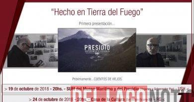 """La UNTDF inicia el ciclo de proyecciones """"Hecho en Tierra del Fuego"""""""