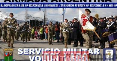 INCORPORACIÓN A LA ARMADA ARGENTINA: SERVICIO MILITAR VOLUNTARIO