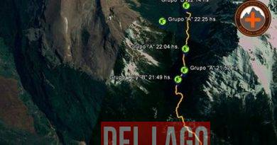 Tres extranjeros fueron rescatados tras perderse mientras realizaban un trekking