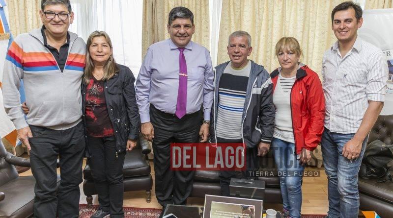 MALVINAS: Juan Carlos Arcando recibió a un familiar de un combatiente caído en las islas