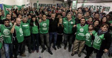 Dirigentes nacionales presentes en el lanzamiento de la lista verde