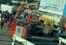 Derrumbe en el aeropuerto de Ezeiza: un muerto y al menos 10 heridos