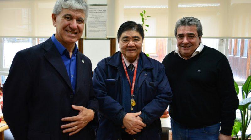 La Municipalidad de Ushuaia con la Asociación Ecológica Argentino-Japonesa INTERCAMBIO CULTURAL Y TECNOLOGÍA PARA EL CUIDADO DEL MEDIO AMBIENTE