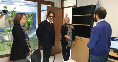 TOLHUIN: El ministro Garavano visitó la Casa de Justicia