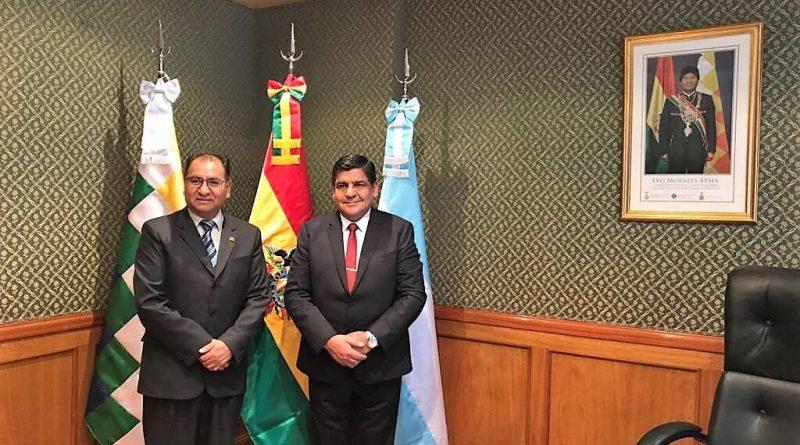 Comunicado enviado al Embajador del Estado Plurinacional de Bolivia, Dn. Javier TITO VELIZ