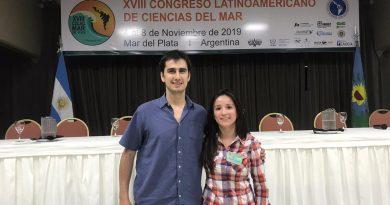 Estudiante y docente de la UNTDF presentaron estudios sobre la genética de los peces del Mar argentino
