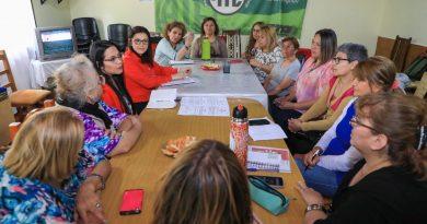 CONSEJO DEL ADULTO MAYOR: EL MUNICIPIO Y JUBILADOS DE ATE PLANIFICAN TRABAJO EN CONJUNTO