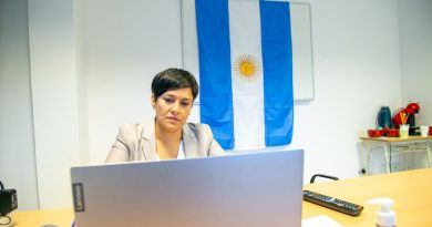 CUBINO PARTICIPÓ DE UNA REUNIÓN POR TELECONFERENCIA CON MINISTROS Y MINISTRAS DE EDUCACIÓN DE LA REGIÓN PATAGÓNICA