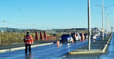 Para mejorar los controles policiales y disminuir la circulación, volvieron los cierres de arterias a Río Grande