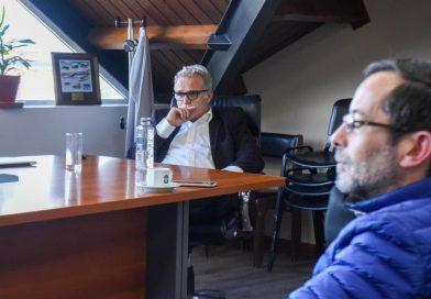 DANIELE Y CALDERÓN SE REUNIERON CON INTEGRANTES DE ESCUELAS EXPERIMENTALES