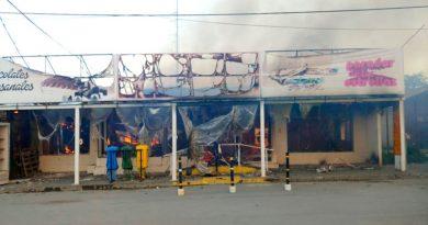 Incendio en la panadería:  LAS PERICIAS CONFIRMAN QUE HUBO UN CORTOCIRCUITO