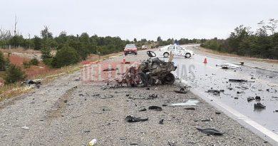 TOLHUIN: ACCIDENTE FATAL SOBRE RUTA NACIONAL N° 3