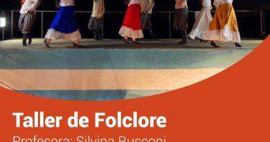 TOLHUIN: Se encuentran abiertas las inscripciones para el taller de folclore municipal
