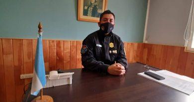 Cambios en Tolhuin: El comisario Marcelo Guerrero va a la Unidad Regional Norte