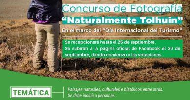 """EL MUNICIPIO INVITA A PARTICIPAR DEL 1° CONCURSO DE FOTOGRAFÍA """"NATURALMENTE TOLHUIN"""""""